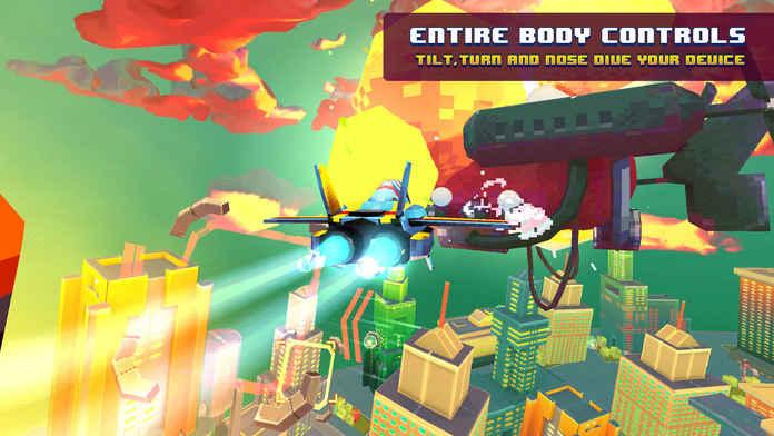 复古像素飞行游戏截图