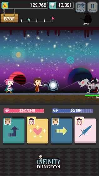 无限地牢 Evolution游戏截图