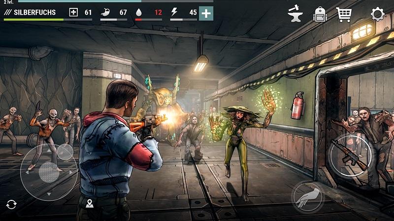 黑暗时代:丧尸求生破解版游戏截图