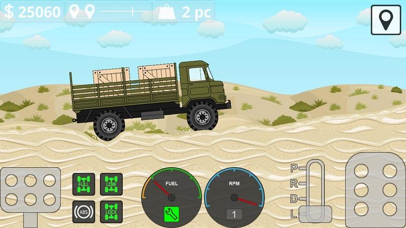 迷你卡车司机破解版游戏截图