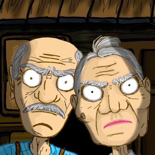 逃离爷爷和奶奶的房子图标