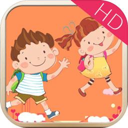 儿童认知贴贴乐HD图标
