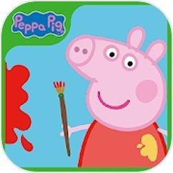 小猪佩奇颜料盒图标