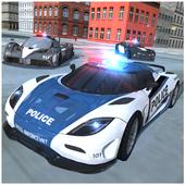 警车模拟器图标
