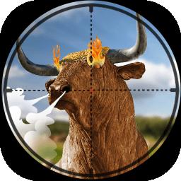 公牛狙击手图标