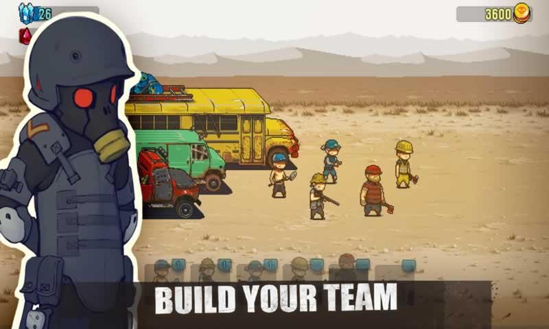 死亡威胁:僵尸战争游戏截图