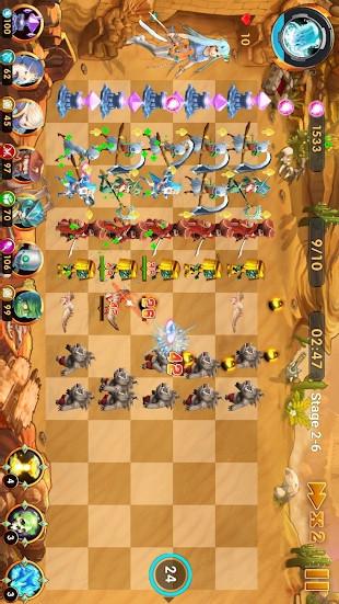 英雄防御战游戏截图