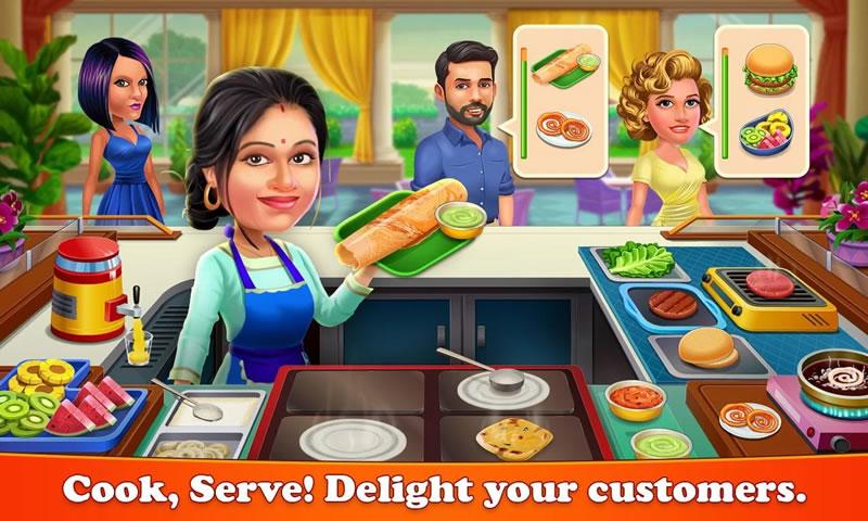 帕塔拉·巴布斯:烹饪咖啡厅游戏截图