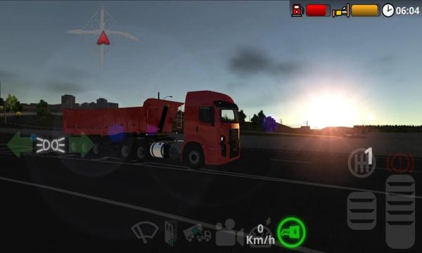 公路司机游戏截图