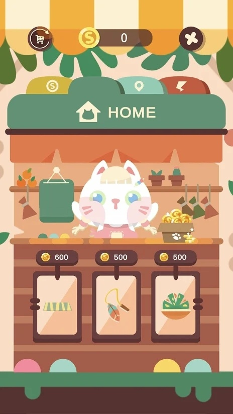 猫猫跳游戏截图