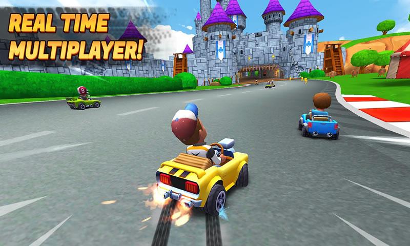 爆炸卡丁车游戏截图