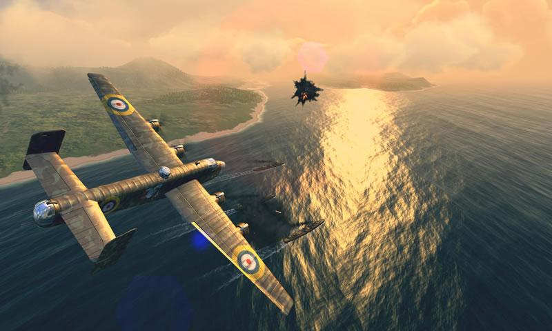 战机:二战空中战场宣传图片