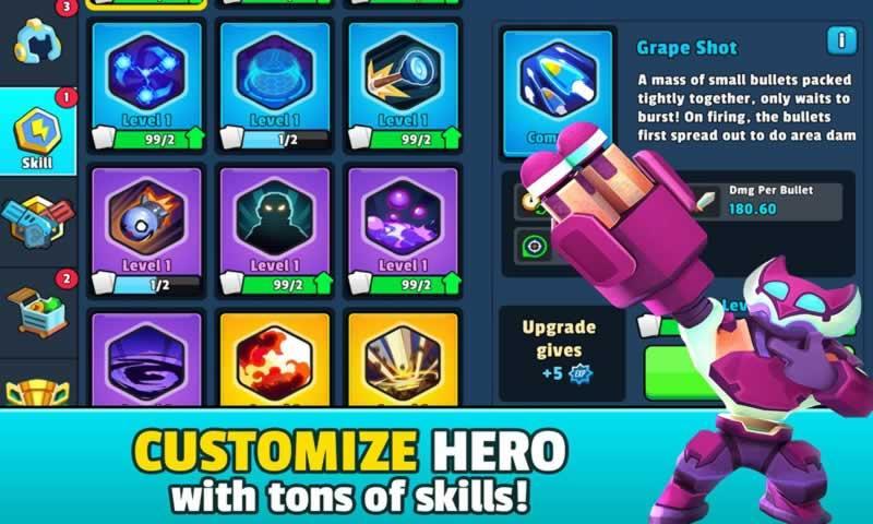英雄强袭游戏截图
