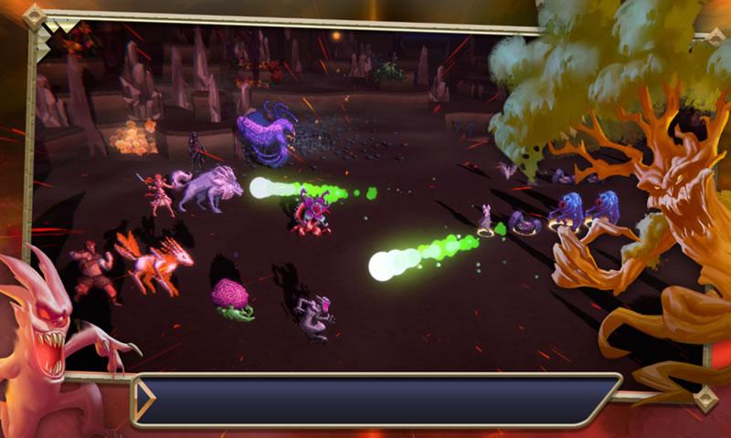 魔獸領域游戲截圖