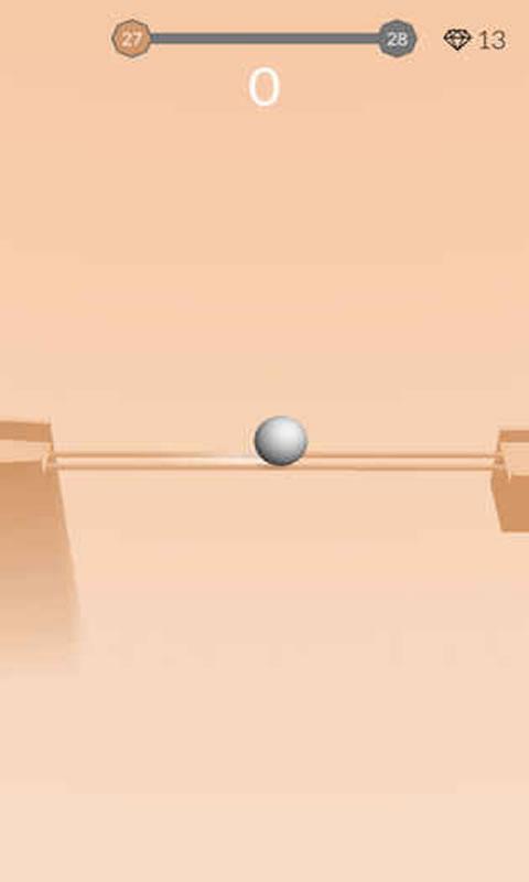 重力小球游戲截圖