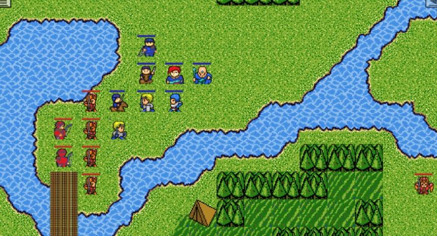 雅瑪中世紀幻想游戲中文宣傳圖片