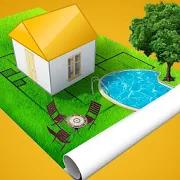 房屋设计3D图标
