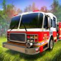 救火消防员图标