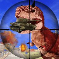 城市恐龙狙击战图标