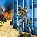 火力掩护射击3D图标