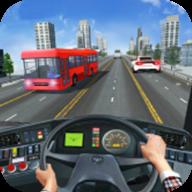 城市公交车驾驶图标