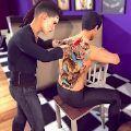 虚拟纹身艺术家世界图标