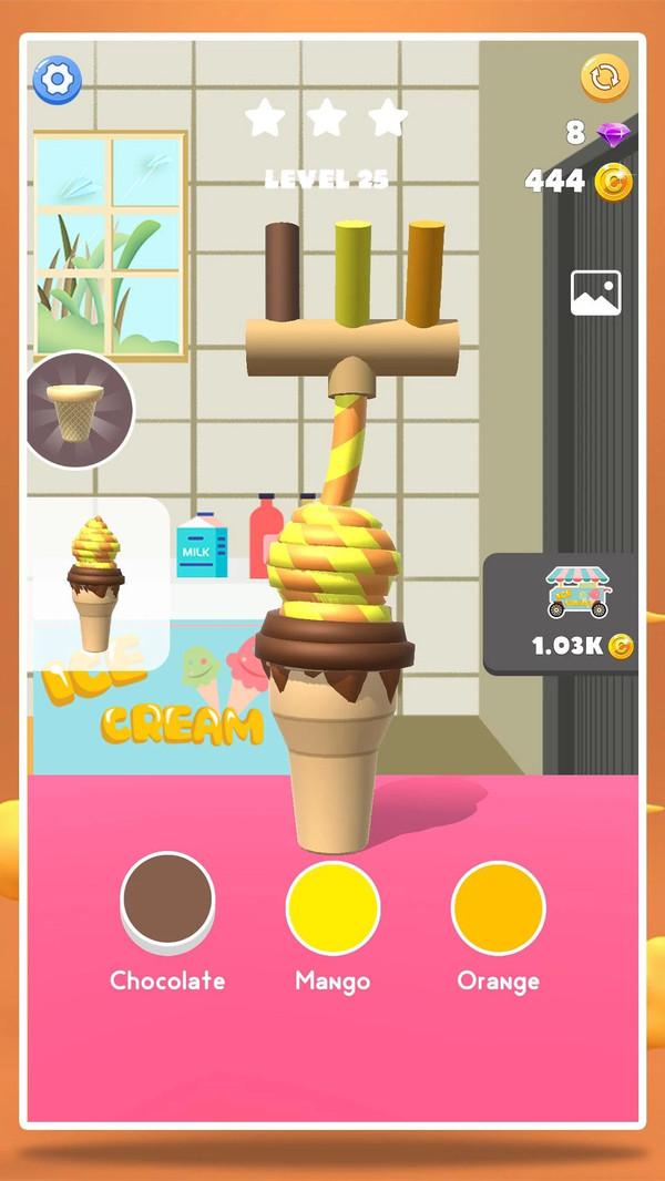 冰淇淋大师游戏中文版 v1.0.0宣传图片