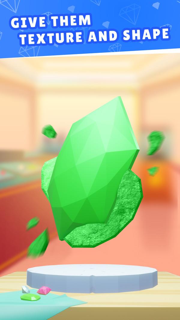 珠宝切割模拟器游戏安卓版 v1.0宣传图片