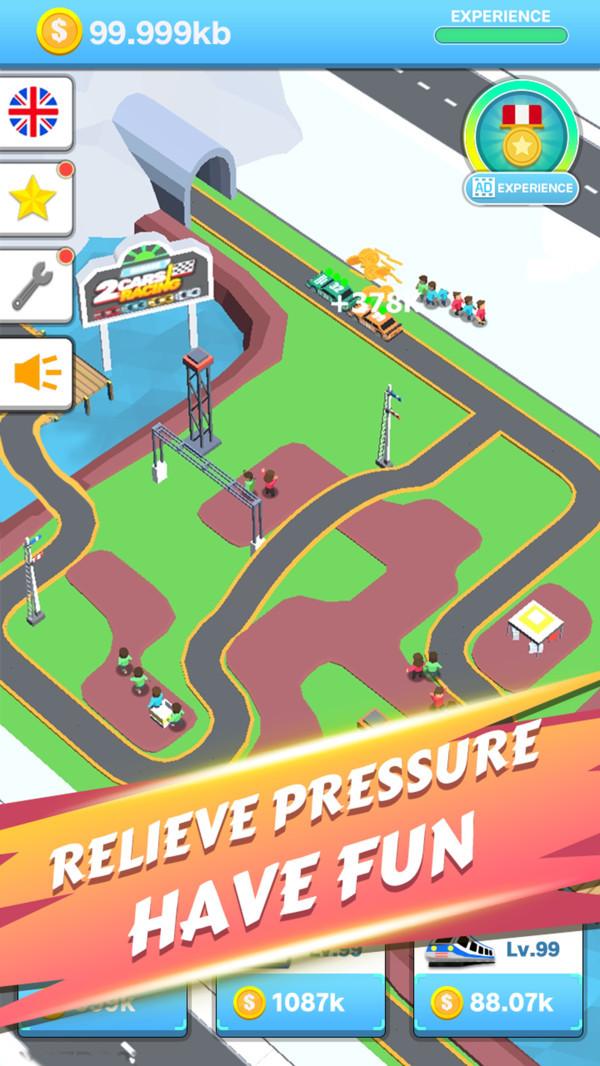闲置鲁莽赛车游戏截图