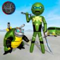 火柴人忍者神龟游戏安卓中文版 v1.0.0图标