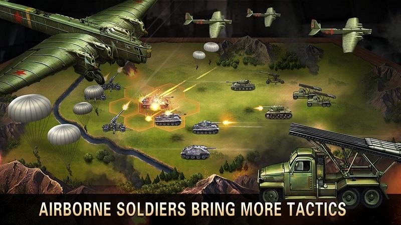 二战名将破解版游戏截图