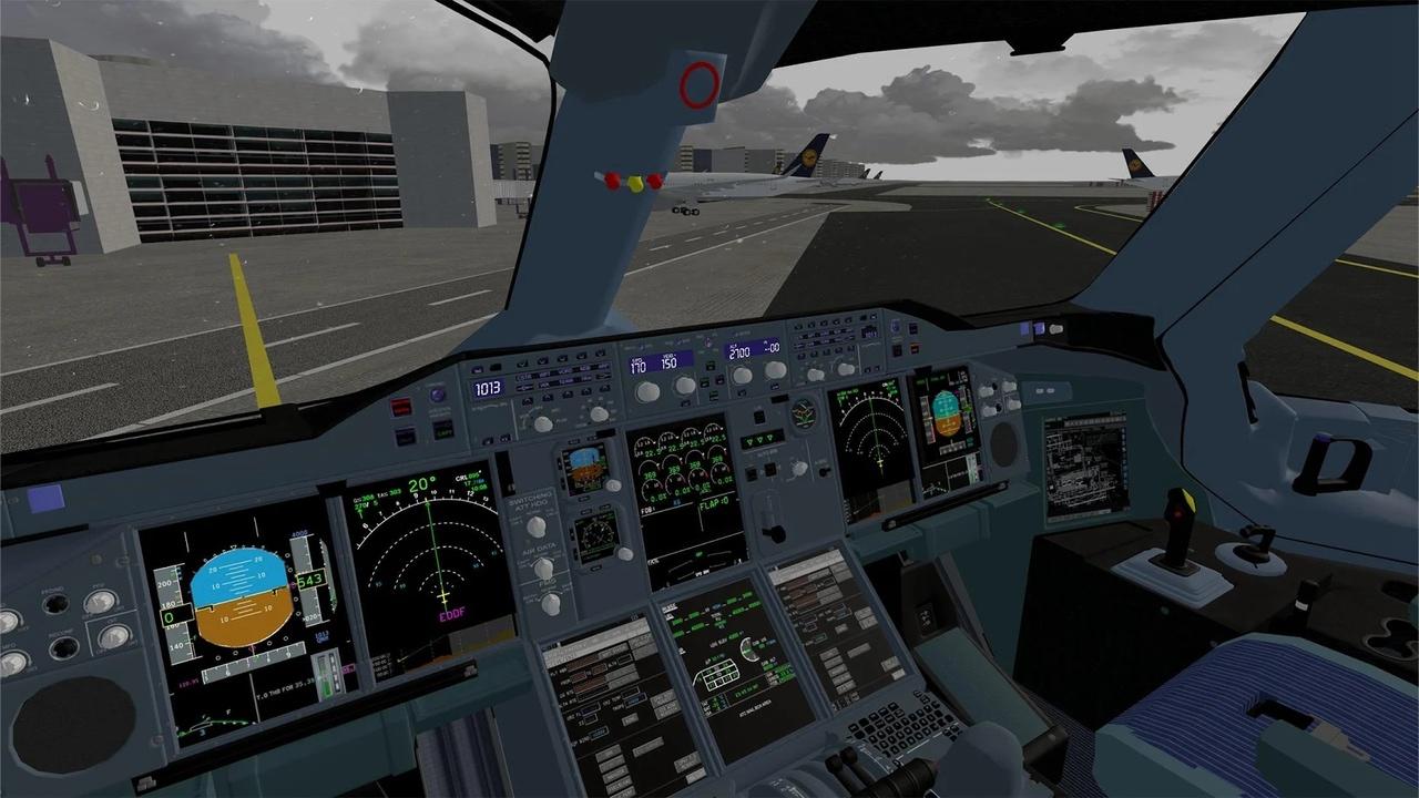 飞行模拟器游戏截图