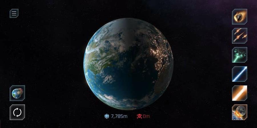 星球毀滅模擬器最新破解版游戲截圖