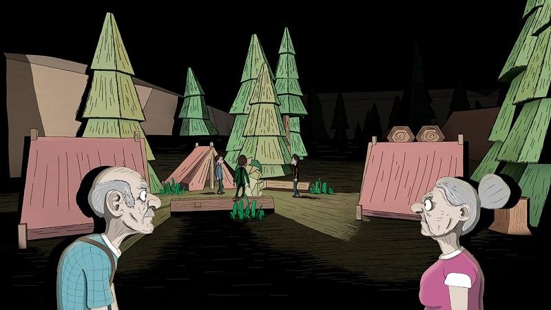 爷爷和奶奶两个夜猎人汉化版游戏截图