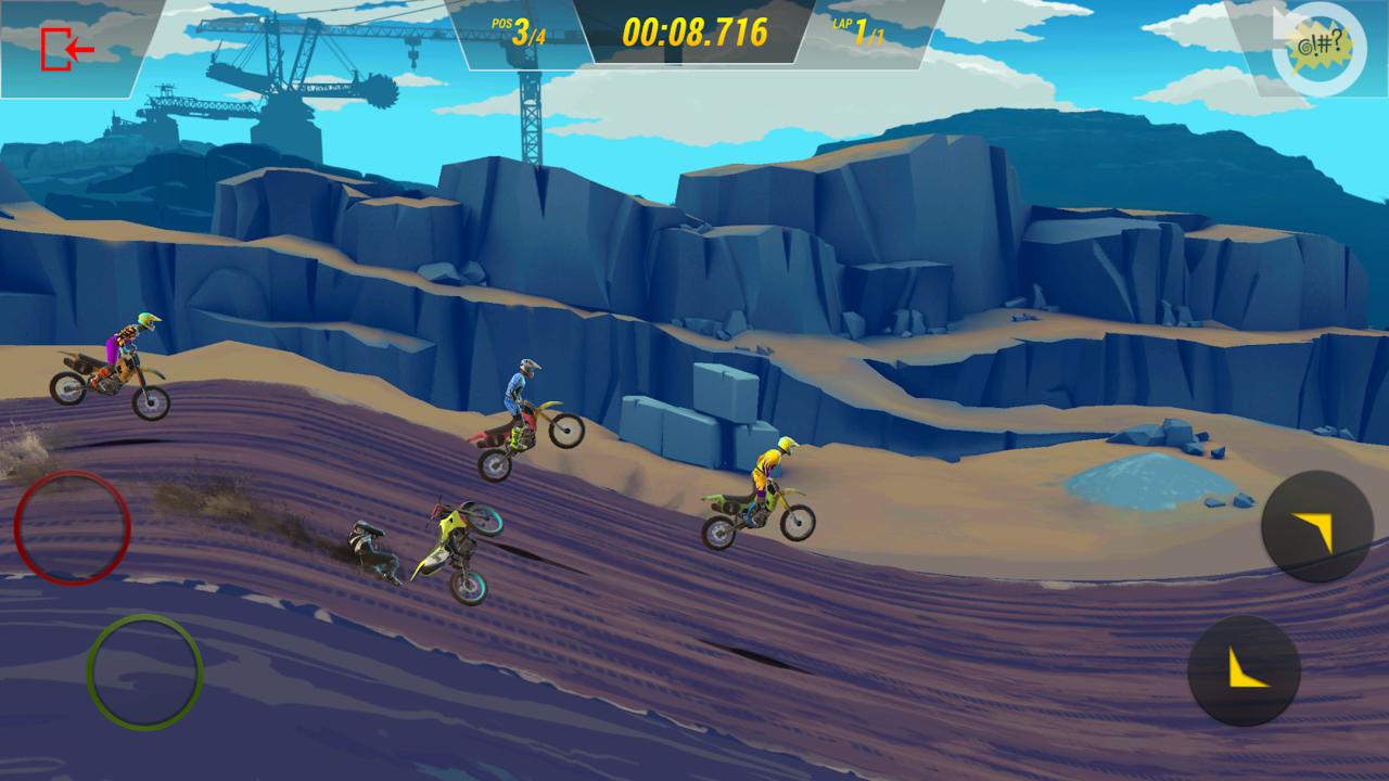 疯狂技能越野摩托车3破解版游戏截图