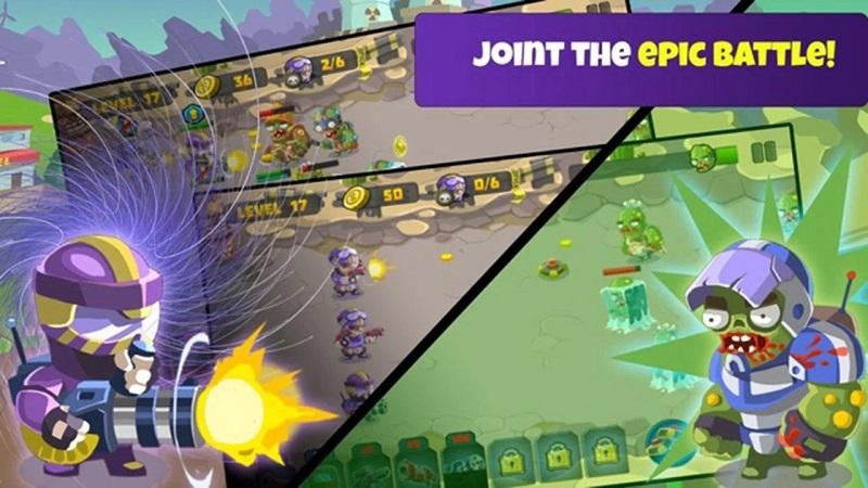 愚蠢的僵尸5无限钻石版游戏截图