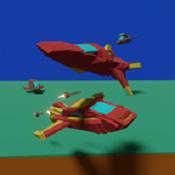 赛车飞行破解版图标