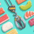 抓寿司图标