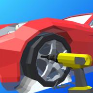 汽车修理3D图标