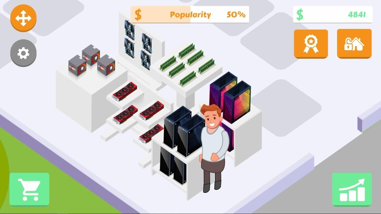 电脑组装店破解版游戏截图