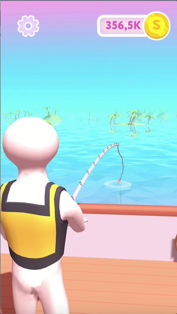 趣味钓鱼游戏截图