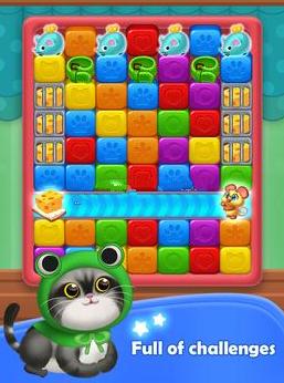 小猫养成记开心点点消红包版游戏截图