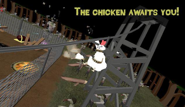 小鸡vs僵尸游戏截图