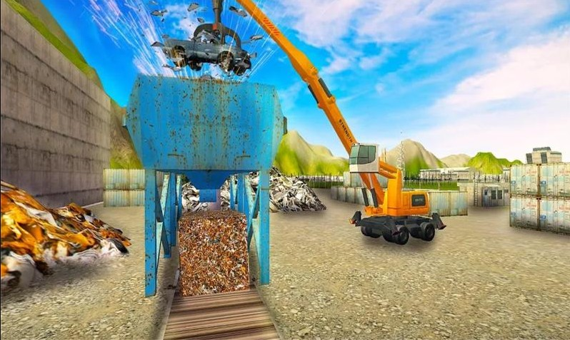 垃圾车模拟器破解版游戏截图