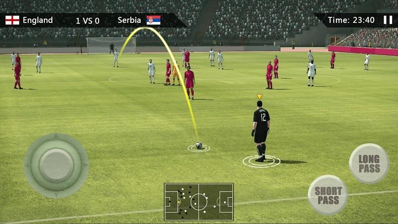真实足球中文破解版游戏截图