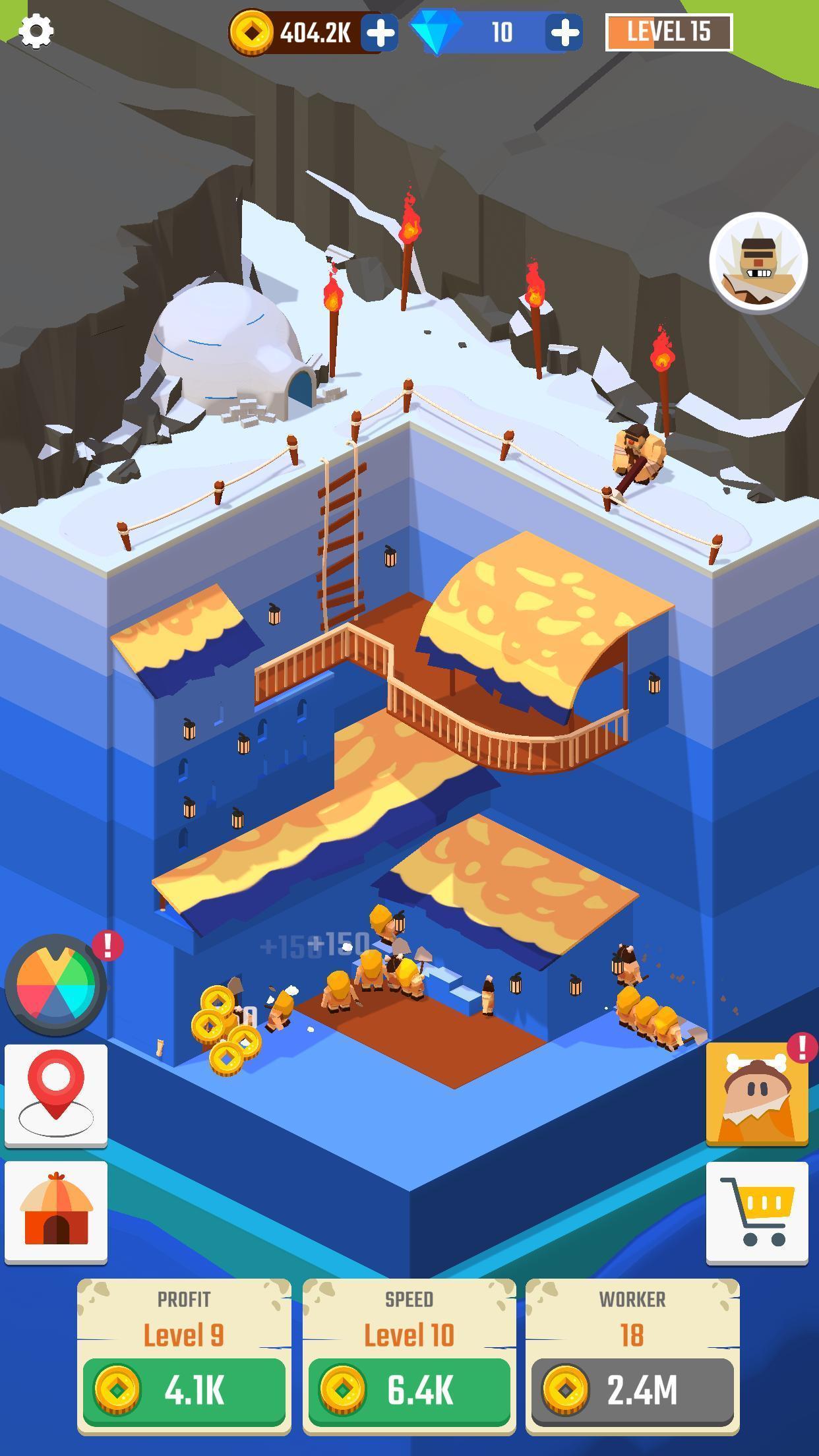 挖掘机工厂大亨游戏截图