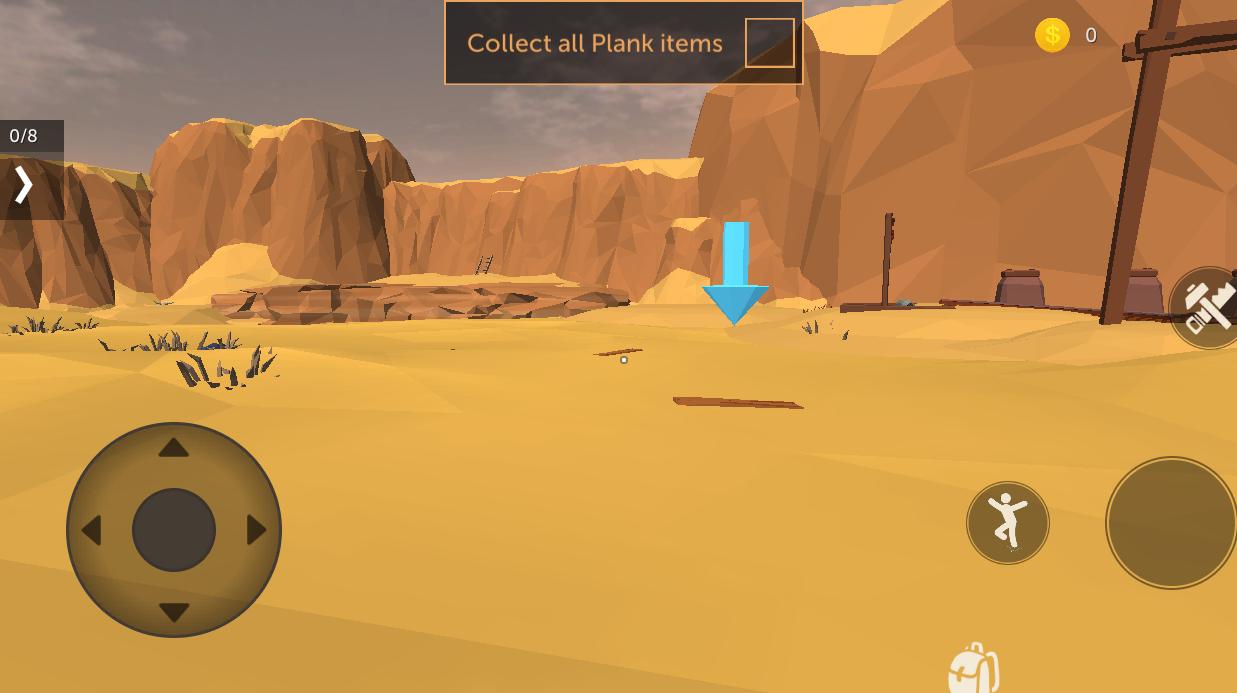 荒漠天际破解版无限金币游戏截图