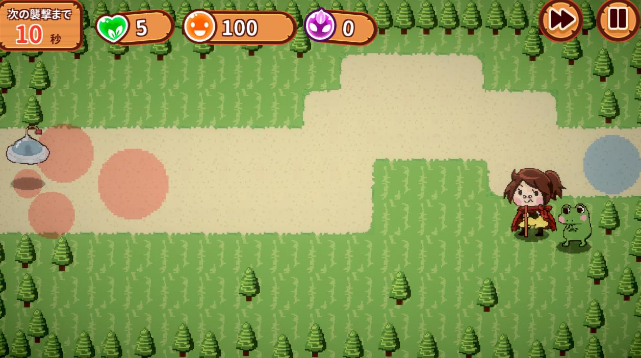 未知保卫破解版无限豆豆版游戏截图