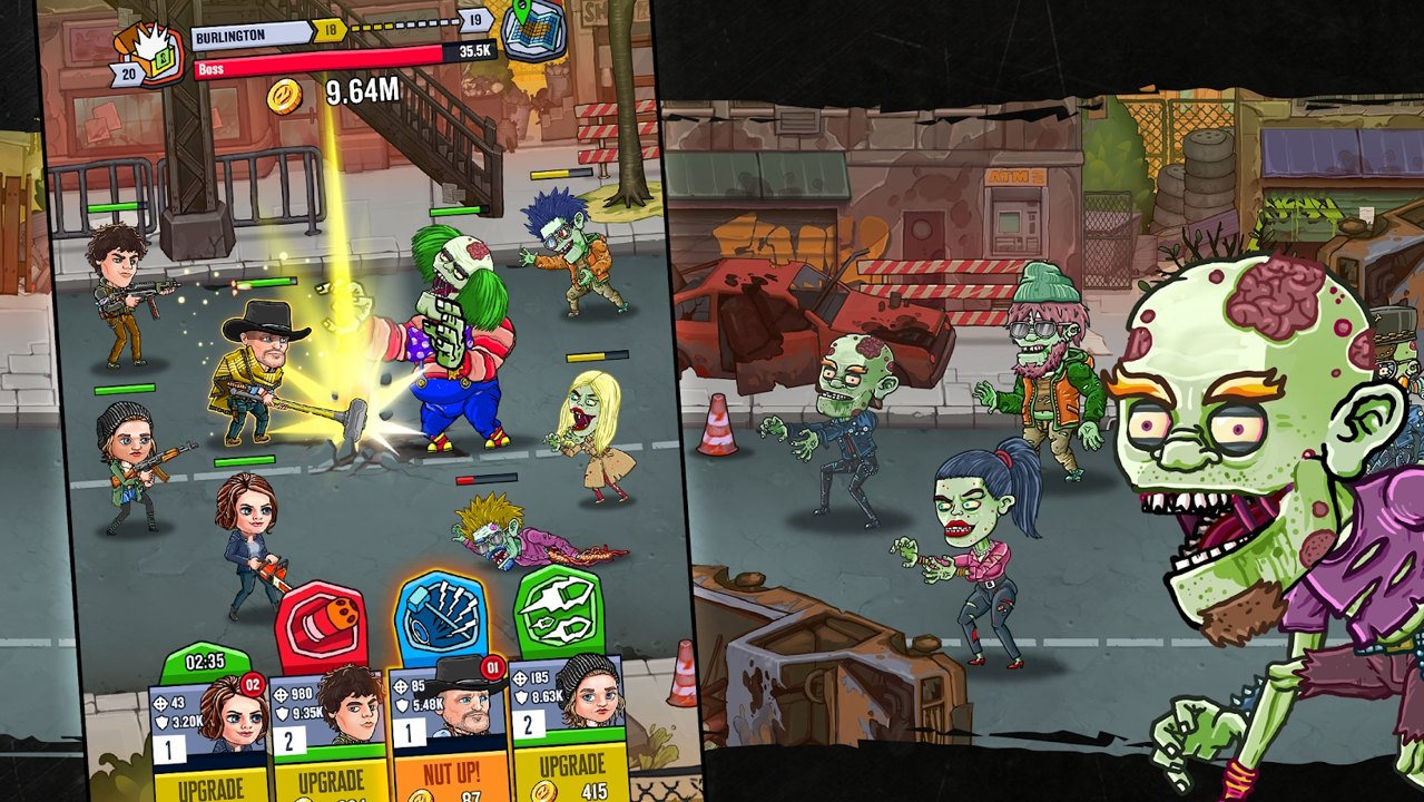 僵尸乐园AFK生存无限金币版游戏截图
