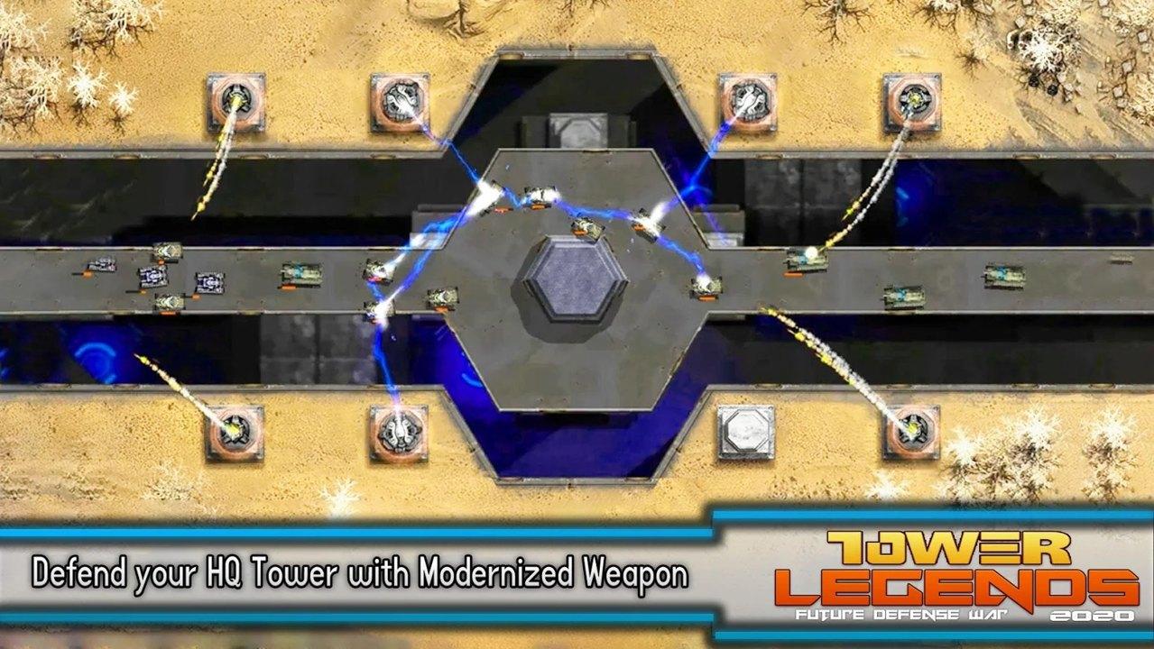 塔传奇未来防御战争2020汉化版游戏截图